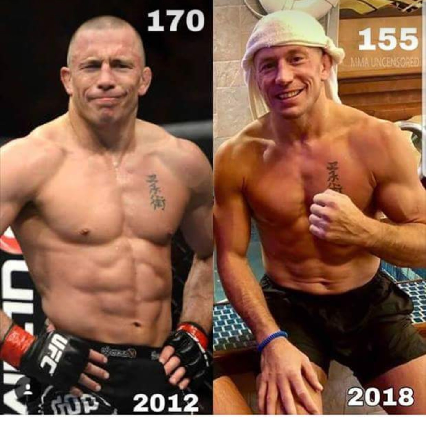 """""""[GSP] Said He Woke Up This Morning At 183 Pounds"""