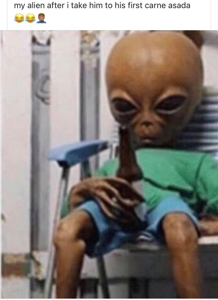 Y'all got any of them Area 51 memes?